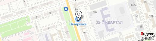 Банкомат, Газпромбанк на карте Волжского