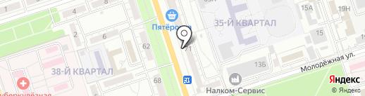 С коффей.com на карте Волжского
