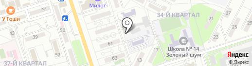 Жилищное хозяйство на карте Волжского