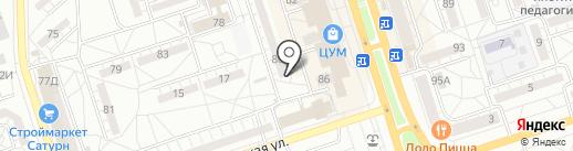 Shine Studio на карте Волжского