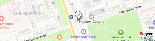 Детская библиотека №16 на карте Волжского