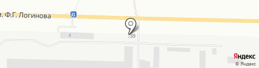 34 Метиза на карте Волжского