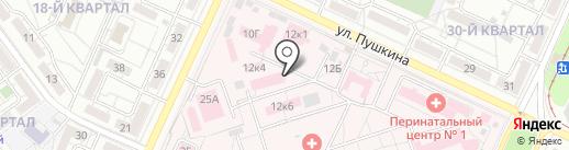 Волгоградское областное бюро судебно-медицинской экспертизы на карте Волжского