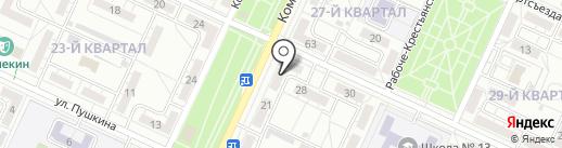 Волгоградоблгостехнадзор на карте Волжского