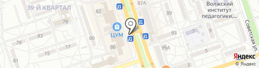 Дом.ru на карте Волжского