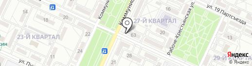 ВКБ-Кредит, КПК на карте Волжского