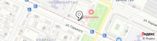 Вырасти сам на карте Волжского