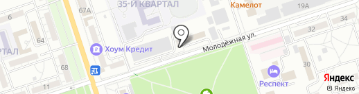 Рыбторг на карте Волжского