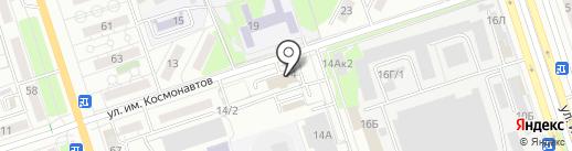 Авто-Соло на карте Волжского