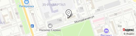 Фигаро на карте Волжского