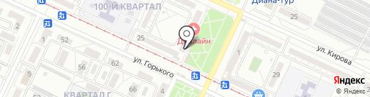 Банкомат, Банк Возрождение, ПАО на карте Волжского