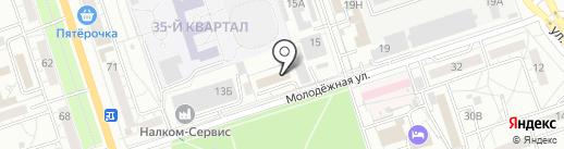 Волгасельмаш на карте Волжского
