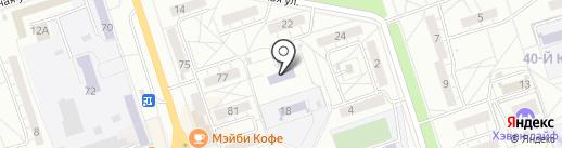 Сталинградская доблесть на карте Волжского