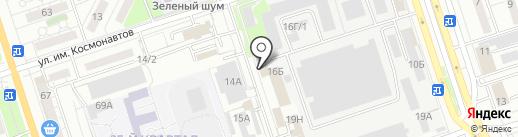 Агат на карте Волжского