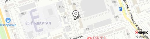 Радиант на карте Волжского