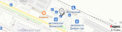 СТМ-Радикон на карте Волжского