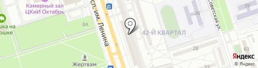 Деловой Стиль на карте Волжского