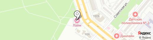 МРТшка на карте Волжского