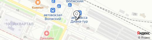 Б/Утик Ажур на карте Волжского