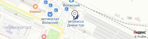 Пивоман на карте Волжского