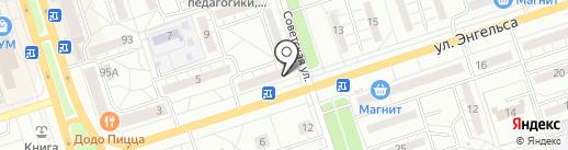 Пив`ко на карте Волжского