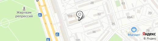 Portnoffky на карте Волжского