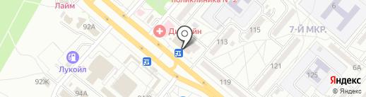 Замки34 на карте Волжского