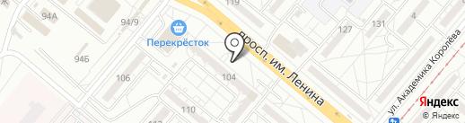 Остров SPA на карте Волжского