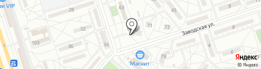 Сокол на карте Волжского