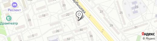 Волгоградская областная общественная пионерская организация на карте Волжского
