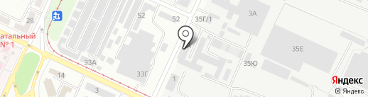 Винтик и Шпунтик на карте Волжского