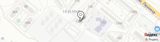 Волжскэнергострой на карте Волжского