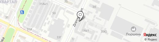 Парнер на карте Волжского