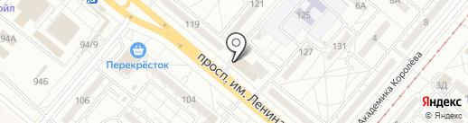Балкон-Сервис на карте Волжского