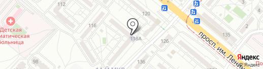 Дети клуб на карте Волжского