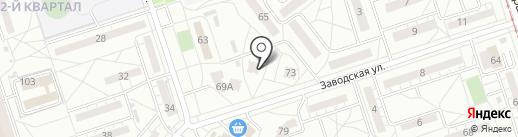 Аса на карте Волжского