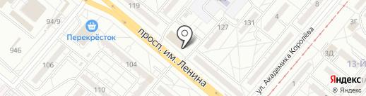 Золотой Стандарт на карте Волжского