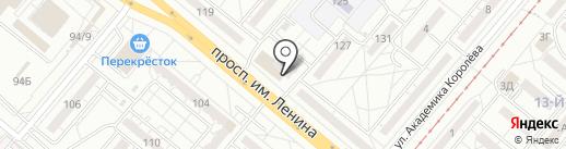 Элвис на карте Волжского