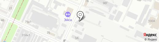 Полимер на карте Волжского