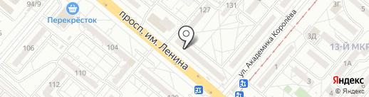 СССР Кроп Пиво на карте Волжского