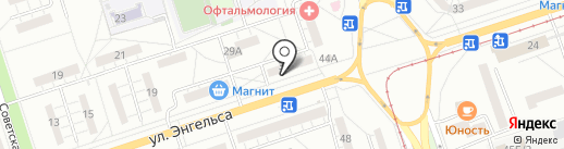 Магазин нижнего белья на карте Волжского