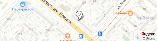Травма-Net на карте Волжского