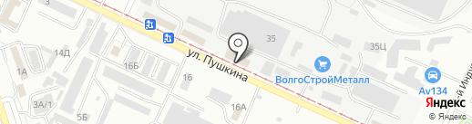 ЭКОС спец на карте Волжского