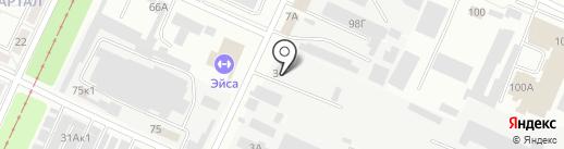 Автопрод 34 на карте Волжского