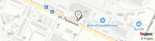 Авто Старт на карте Волжского