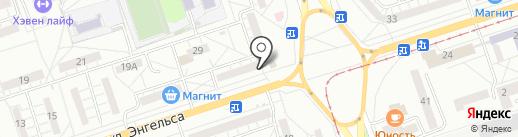 Абсолют на карте Волжского