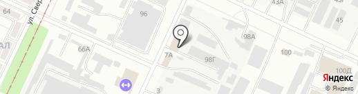 Комплексное Снабжение на карте Волжского