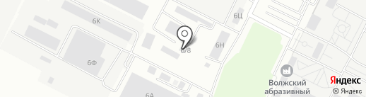 Спец34 на карте Волжского