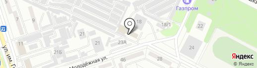 Аварийка на карте Волжского