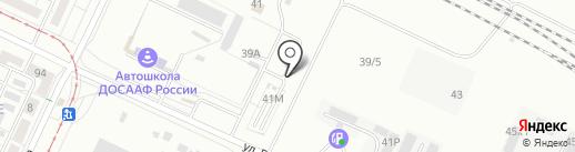 Бизнес Молл на карте Волжского